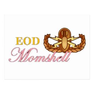 black eod momshell postcard