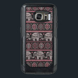 "Black Ethnic Elephant Pattern OtterBox Samsung Galaxy S7 Case<br><div class=""desc"">Ethnic vintage elephant seamless for you business &#169; and &#174; Bigstock&#174; - All Rights Reserved.</div>"