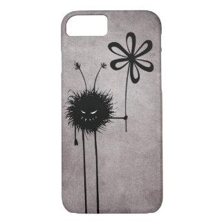 Black Evil Flower Bug Vintage iPhone 7 Case