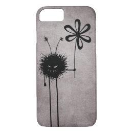 Black Evil Flower Bug Vintage iPhone 8/7 Case
