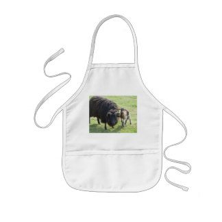 Black Ewe Kids' Apron