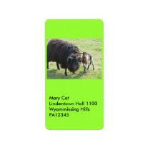 Black Ewe Label
