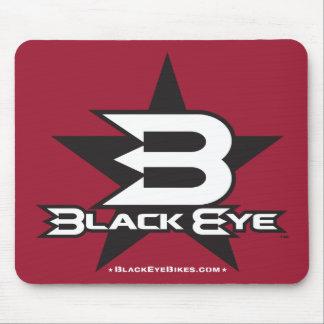 Black Eye Bikes Star Mouse Pad
