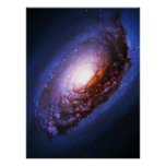 Black Eye Galaxy - Messier 64 (M64) Poster