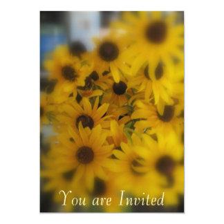 Black Eye Susan Invitation Cards