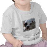 Black Eyed Boxer Dog Baby T-Shirt