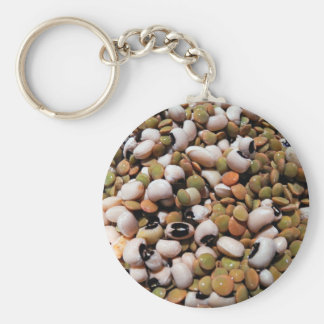 Black-Eyed Peas and Lentils Medley Keychains