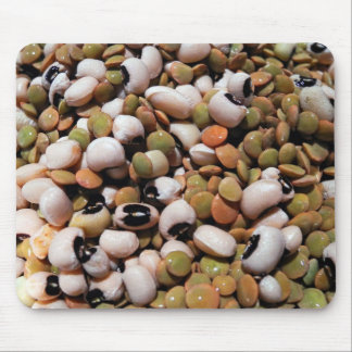Black-Eyed Peas and Lentils Medley Mouse Pad