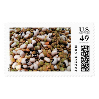 Black-Eyed Peas and Lentils Medley Stamps
