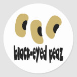 Black-Eyed Peaz Classic Round Sticker