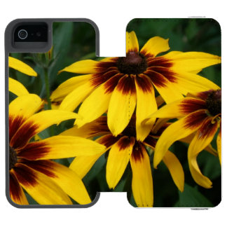 black-eyed-susan-18 incipio watson™ iPhone 5 wallet case
