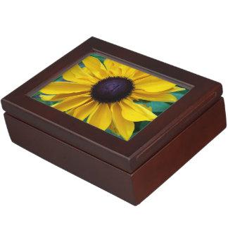 Black Eyed Susan Beauty Keepsake Box