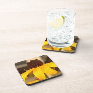 Black Eyed Susan Blossom Plaque Beverage Coasters