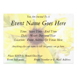 Black Eyed Susan Bouquet Personalized Invite