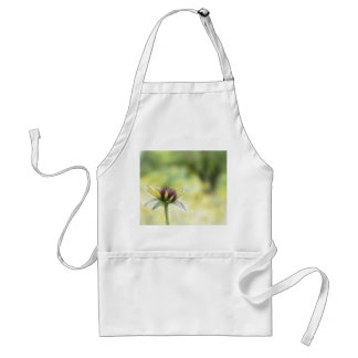 Black Eyed Susan Bud And The Old Oak Adult Apron