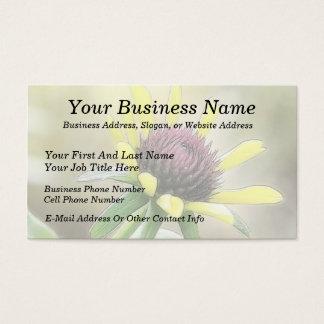 Black Eyed Susan Bud Business Card