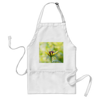 Black Eyed Susan Bud In Profile Adult Apron