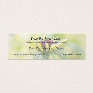 Black Eyed Susan Bud In Profile Mini Business Card