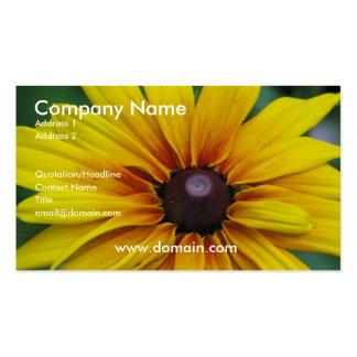 Black Eyed Susan Business Card