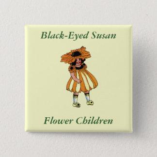 Black-Eyed Susan Button
