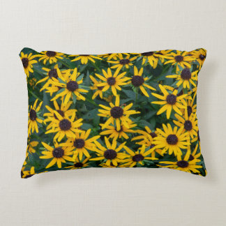 Black-Eyed Susan Cluster Accent Pillow