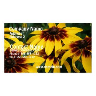 Black Eyed Susan Flower Business Card