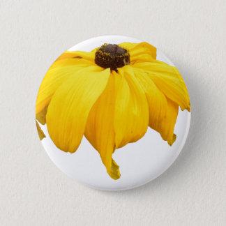 Black Eyed Susan Flower Button