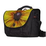 Black Eyed Susan Flower Laptop Computer Bag