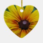 Black Eyed Susan Flower Ornament