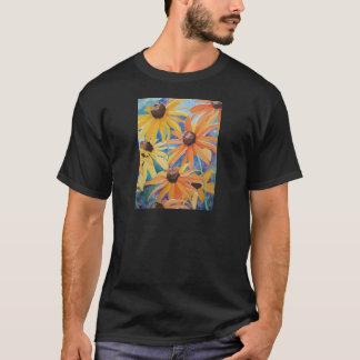 Black Eyed Susan Flower Watercolor Painting T-Shirt