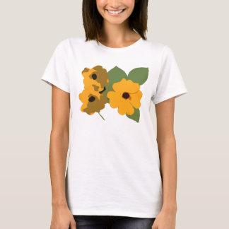 Black Eyed Susan Flowered Shirt