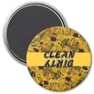 Black Eyed Susan Flowers Dishwasher Magnet