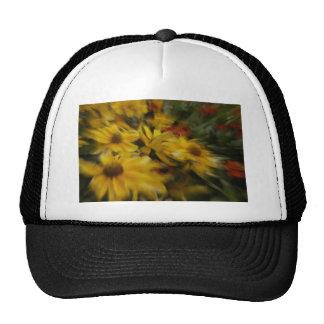 Black Eyed Susan Flowers Trucker Hats