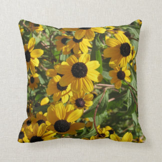 Black-eyed Susan Flowers Lazy Susans Pillow