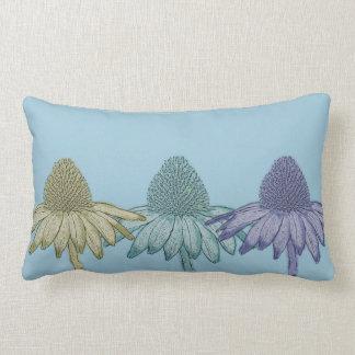 Black Eyed Susan Flowers Lumbar Pillow