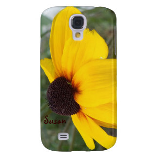 Black Eyed Susan Galaxy S4 Case *Personalize*