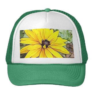 Black Eyed Susan - Gloriosa Daisy Mesh Hat