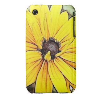 Black Eyed Susan - Gloriosa Daisy iPhone 3 Case-Mate Case