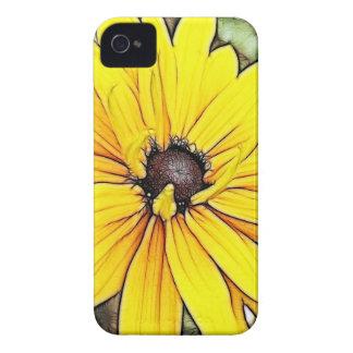 Black Eyed Susan - Gloriosa Daisy iPhone 4 Case-Mate Case