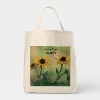 Black Eyed Susan Grocery Bag