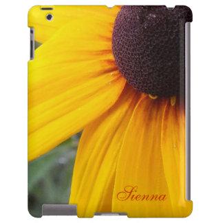 Black Eyed Susan iPad Case *Personalize*