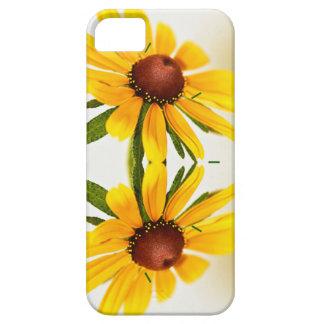 Black-Eyed Susan Kaleidoscope Pattern iPhone SE/5/5s Case