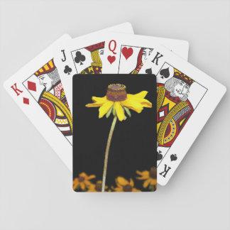 Black Eyed Susan Playing Card Card Deck