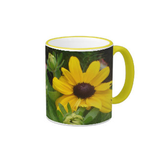 Black eyed susan ringer mug
