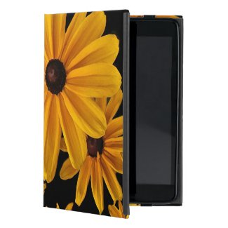 Black-eyed Susan Rudbeckia Flowers iPad Mini Case
