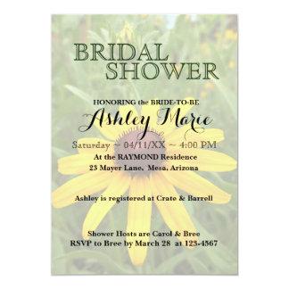 Black-eyed Susan Shower Invitation