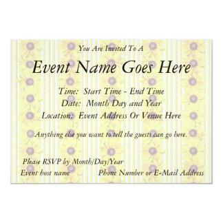Black Eyed Susan Stripes Card