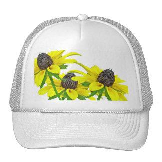 Black-Eyed Susan Wildflower Coordinating Items Trucker Hat
