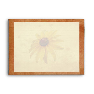 Black-Eyed Susan Wildflower Envelope