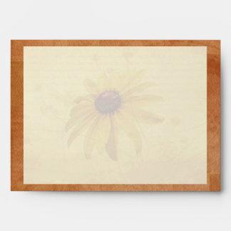 Black-Eyed Susan Wildflower Envelope